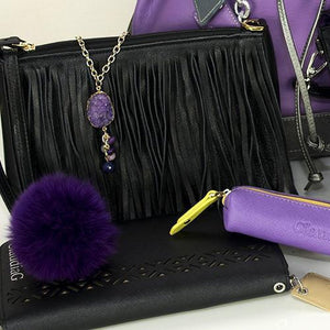 ClaudiaG Collection Women - Accessories - Wallets & Small Goods Foxy Bag Charm- Plum