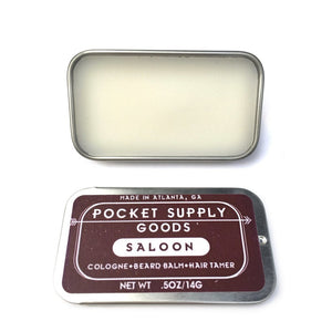 Pocket Supply Goods Men - Accessories - Hair Accessories Saloon / Bourbon & Pine Scented Grooming Balm