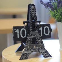 Spocket Gifts Eiffel Tower Flip Clock