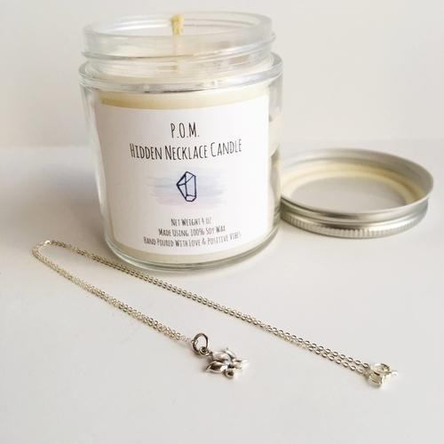 Spocket Gifts Peppermint Passion Hidden Necklace Candle!