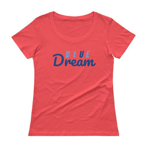 The Red Panda Collective Coral / XS Ladies Blue Dream Tee! Rock your favorite!
