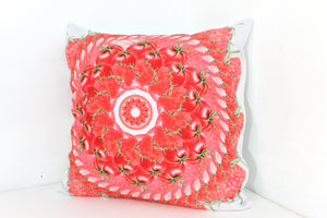 Pillow Red Maui Mandalas