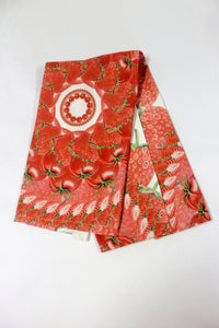 Tea Towel Mandala Red