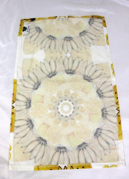 Tea Towel Mandala Yellow