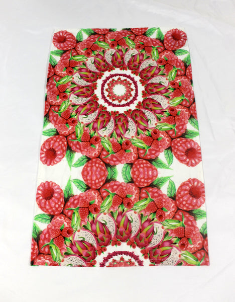 Tea Towel Mandala Pink