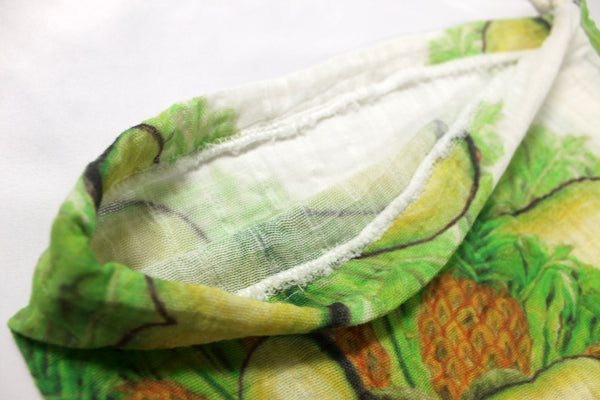 Drawstring Produce Bag Light Green