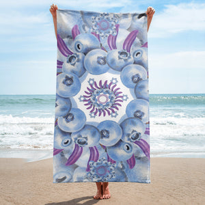 Towel Blue Mandala