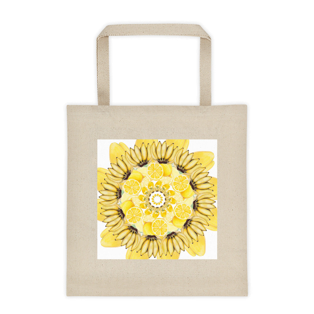 Tote bag Yellow