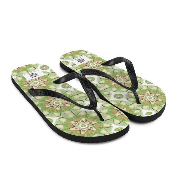 Light Green Flip-Flops