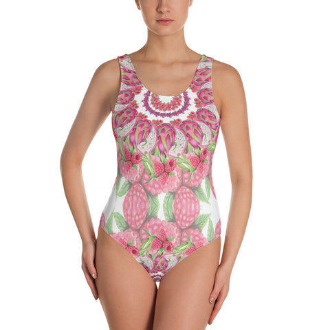 One-Piece Swimsuit Pink