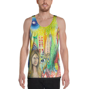Unisex Tank Top Original Art