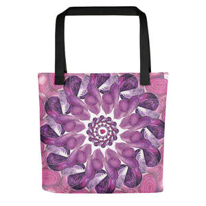 Tote bag Purple