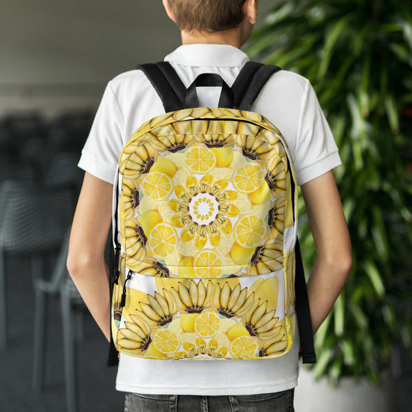 Backpack Yellow Mandala