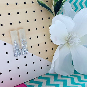 Frozen Icicle Bar Studs
