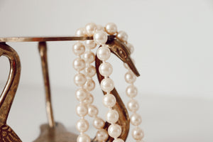 String of Champagne Pearls - 31.25""