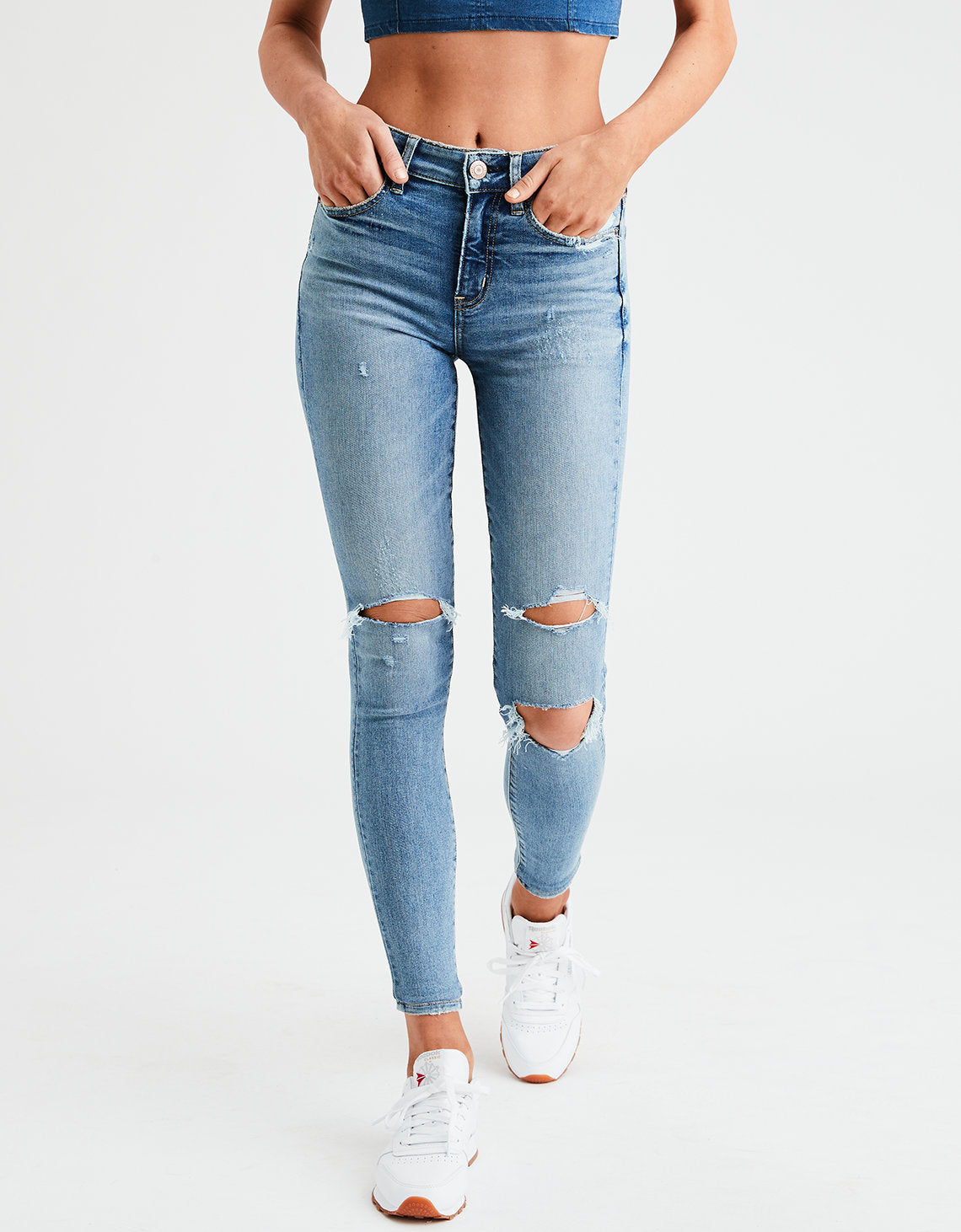 35ab0e7a American Eagle | AE Ne(X)t Level High-Waisted Jegging in Bright ...