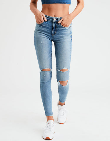 AE Ne(X)t Level High-Waisted Jegging in Bright Vintage
