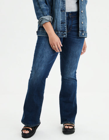 Kick Bootcut Jean in Royal Blue