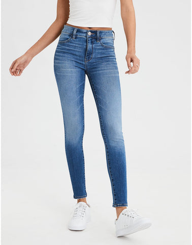 AE Ne(X)t Level High-Waisted Jegging in Fresh Bright
