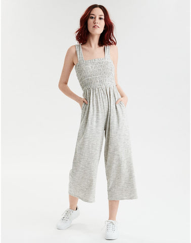 7a32bf33a33 American Eagle AE Striped Knit Jumpsuit in Multi