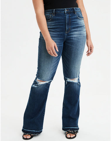 Highest Waist Flare Jean in Easy Does It