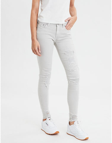 Jegging in Light Gray