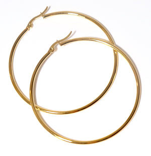 Revmiie Medium Hoop Earrings