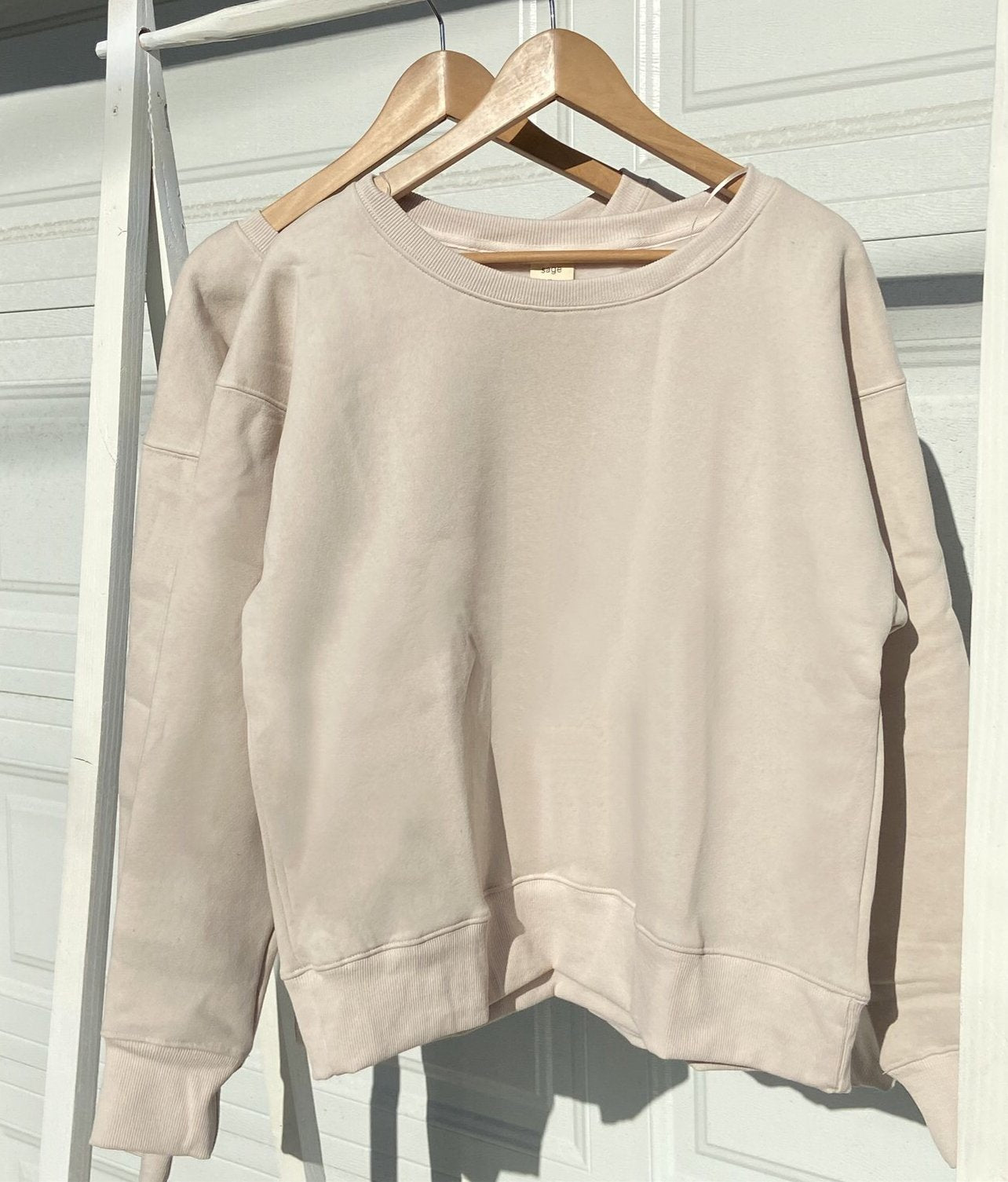 Tan Crew Neck Sweater