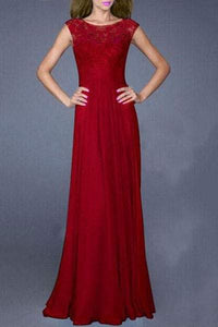Jewel Neck Sleeveless Hollow Out Solid Color Dress