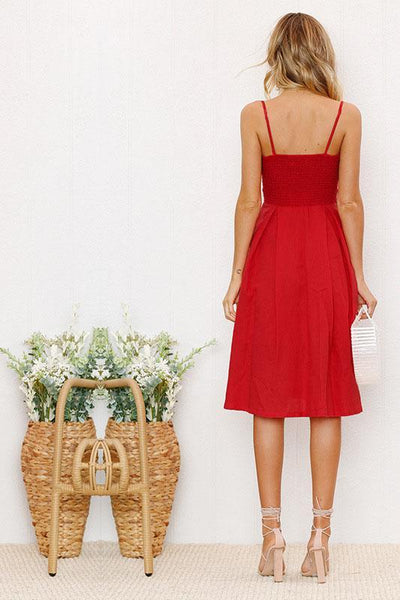 Sexy Bowknot Lace-up Cut-out Day Dress