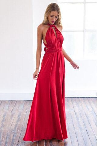 Sexy Various Wearing Styles Maxi Dress