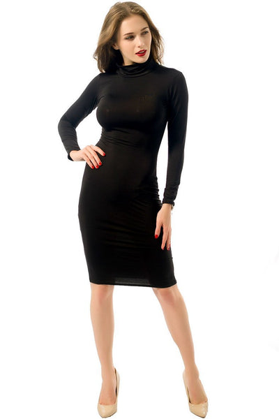 Candy Color Slim Bodycon Dress