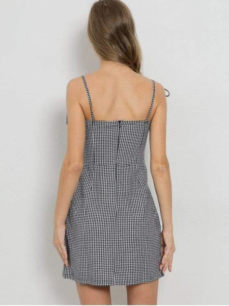 Ruffles Gingham Party Dress