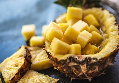 Photo of pineapples