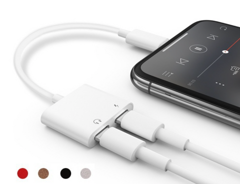 Lightning-Audio und Lade, Adapter