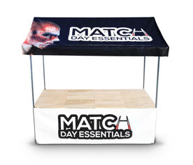 Custom Printed Trade Stand for Rugby Clubs