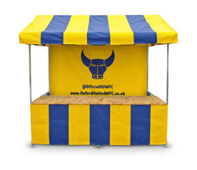 Custom Printed Market Stall for Football Clubs