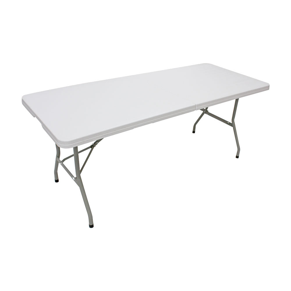 6ft (180cm) Rectangular Folding Trestle Table