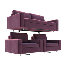 Load image into Gallery viewer, yeloStand® Ultra Heavy Duty Single Tier Sofa Display Stand (wheels optional)