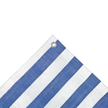 Load image into Gallery viewer, Striped Market Stall Tarpaulin Heavy Duty 170gsm