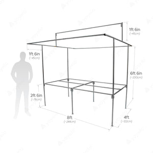 yeloStand® ONE XL Market Stall