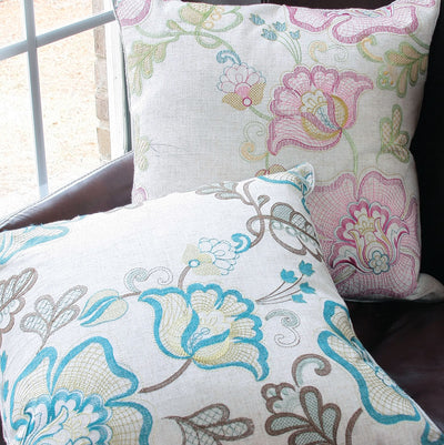ML13902 Floral Fantasy Pillow