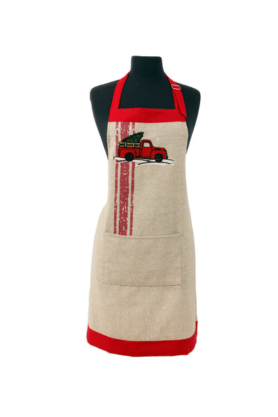 ML17131 Christmas Truck Apron