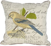 "ML11076 Bird on Nest Pillow, 18""x18"""