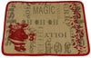 ML14900 Saint Nick Burlap Placemat, 13''x18''
