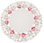 "ML16130 Lush Rosette Round Placemats, 16"", Set of 4"