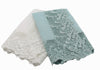 "ML16148 Garden Trellece Lace Trim Napkins,20""x20"",Set of 4"