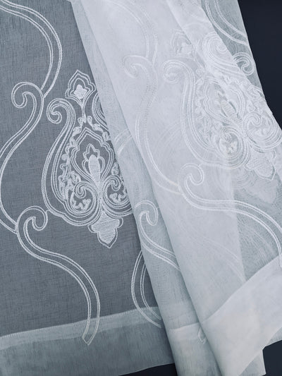 ML16229 Ella Embroidered Sheer Curtain