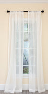 ML16249 Isa Plaid Sheer Curtain