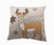 "ML16355 Cozy Reindeer Pillow, 18""x18"""